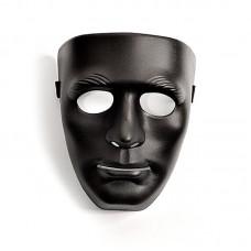 646ш) Маска чёрная пластик