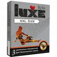 218ш) ПРЕЗЕРВАТИВ LUXE №3 BIG BOX XXL