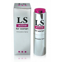 203кш)  Б/Спрей для женщин LOVESPRAY ACTIVE (возбуждающий) 18мл.