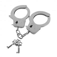 606кш) Наручники из листового металла, с ключами