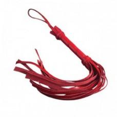 652ш)  Плеть мини красная
