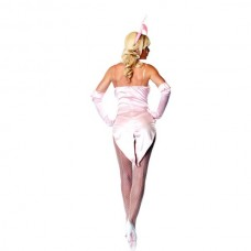 522ш) Ki/Розовый кролик- костюм