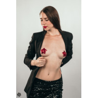 501ш) ПЭСТИСЫ BURLESQUE TEMPEST RED