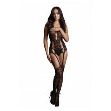 595ш) Кетсьюит (боди-комбинезон) Lace Suspender Bodystocking
