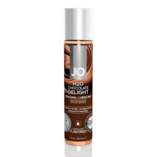 157ш) Ароматизированный лубрикант Шоколад на водной основе JO Flavored Chocolate Delight 1oz (30 мл)